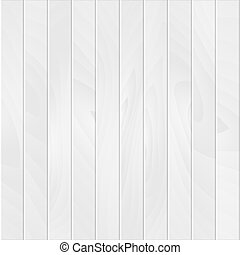 Vector wood plank, white texture background illustration