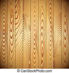 Vector wood planks background - Realistic Wood planks...