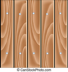 Vector wood planks