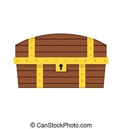 Vector Wooden Chest