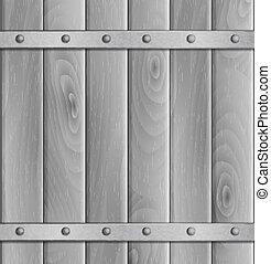 vector wooden light background