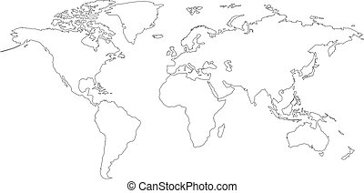 Vector world map world map map of the world world map vector vector world map gumiabroncs Images