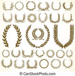 Vector Wreaths