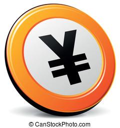 Vector yen icon