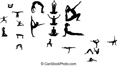 Vector - yoga