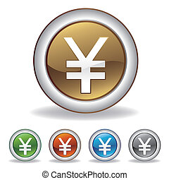 vector, yuan, pictogram