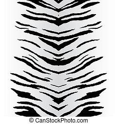 vector, zebra stript
