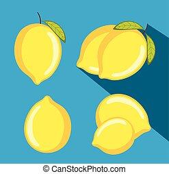vectors, λεμόνι