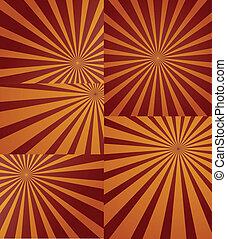 vectors, ξαφνική δυνατή ηλιακή λάμψη