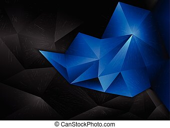 vectors background abstract polygon design blue
