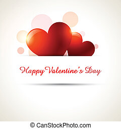 vecttor heart background - stylish valentine day vector ...