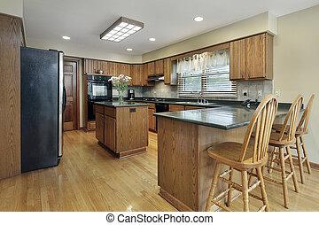ved, cabinetry, kök