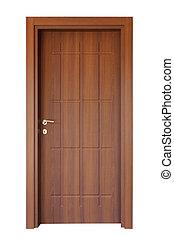 ved, dörr