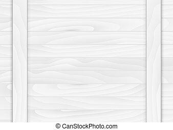 ved, illustration, color., bakgrund., vektor, vit, planka