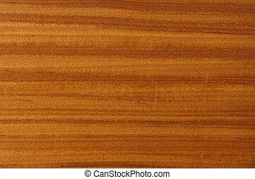 ved, målning, mahogany.