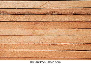 ved, plankor, carpentry.