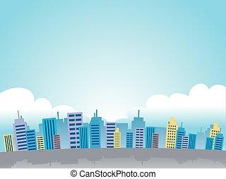 veduta città