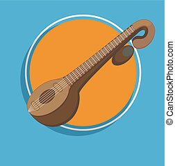 Veena - Indian Music Instrument