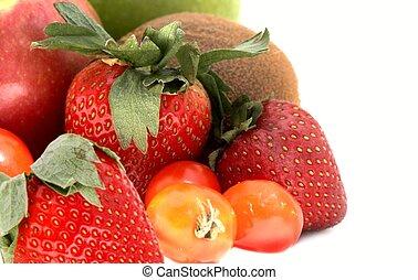 veg#3, gyümölcs