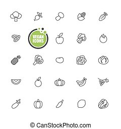 Vegan and Vegetarian food,Vegetable