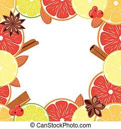 Vegan day vector colorfull background square border frame.
