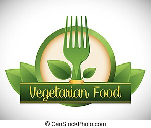 Vegan design - Vegan digital design, vector illustration 10...
