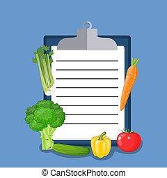 Vegan diet plan checklist.