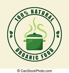 vegan food design - vegan food graphic design , vector...