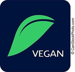 vegan food icon