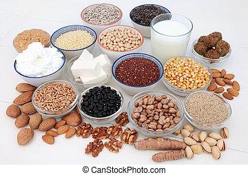 Vegan Health Food Assortment