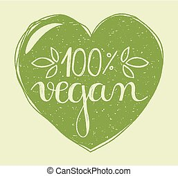 vegan heart