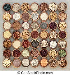 Vegan High Protein Health Food - Vegan high protein dried...
