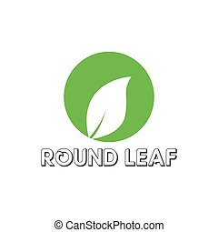 Vegan icon green leaf label template for vegan or vegetarian food package design