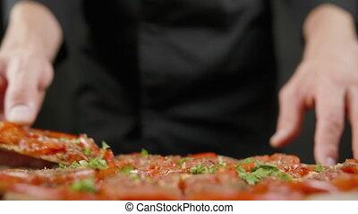 vegan, kuchnia, smaki, czarnoskóry, pizza obsadzają