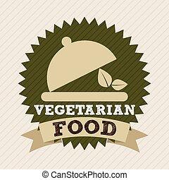 vegan menu design, vector illustration eps10 graphic