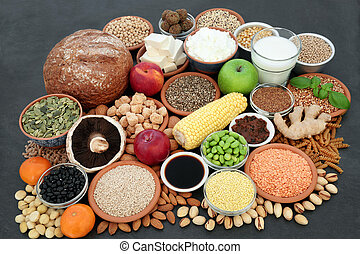 vegan, sundhed mad, samling