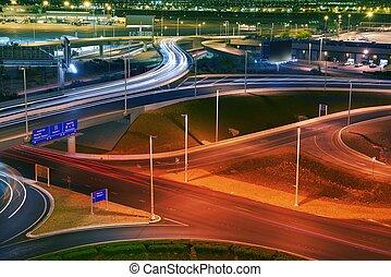 Vegas Airport Traffic
