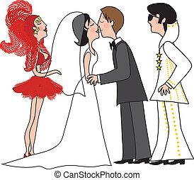vegas, boda