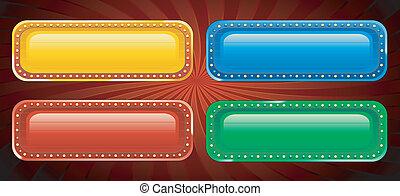 Vegas casino banners