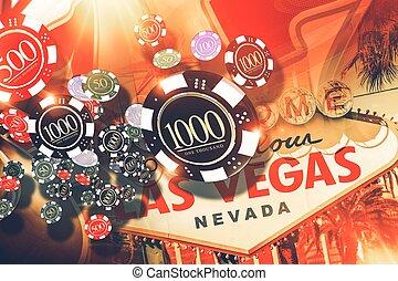 Vegas Gambling Concept
