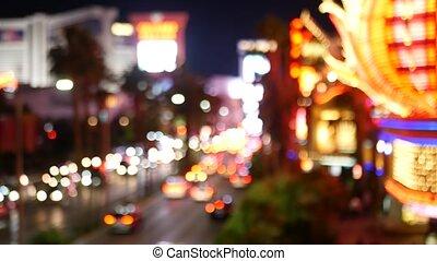 vegas, hazard, życie nocne, światła, turysta, pieniądze, ...