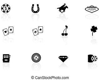 vegas, las, iconos