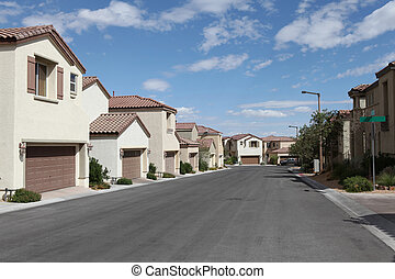 Vegas Single Family Homes - New tightly packed single family...