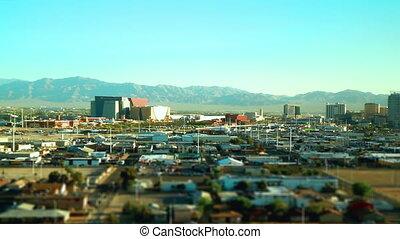 Vegas Tilt Shift Time Lapse - Las Vegas Tilt Shift Time...
