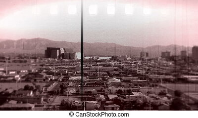 Vegas Tilt shift vintage film effect