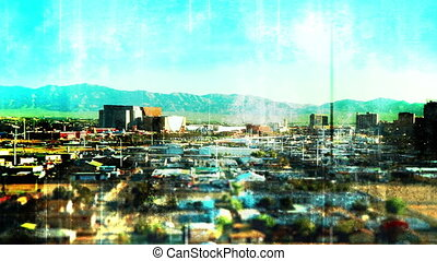 Vegas Time Lapse tilt shift effects