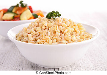 vegetable and grain