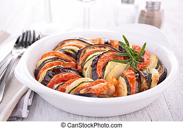 vegetable baked tian