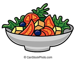 vegetable fresh salad
