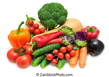 vegetable isolated on a white background